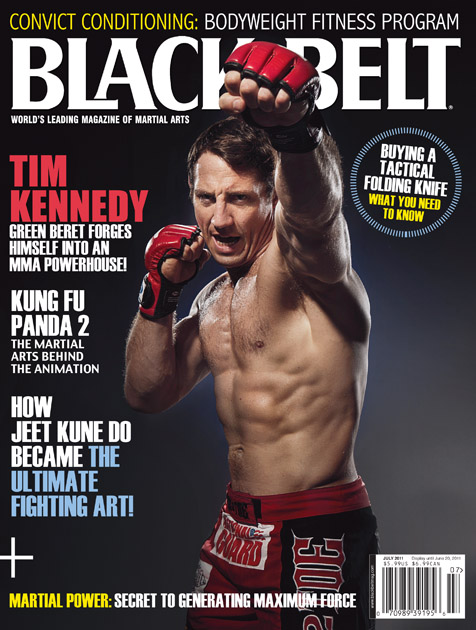 Blackbelt Magazine July 2011